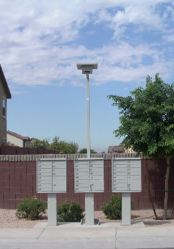 Sentinal Solar Site Lite From Locking Mailboxes