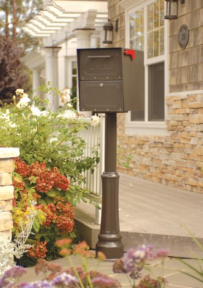 Oasis Jr Decorative Post Mailbox From Locking Mailboxes