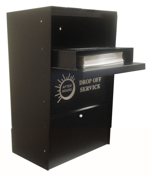 Vertical Locking Wall Drop Mail Collection Drop Box From