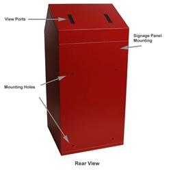 Sharps Express Floor Mount Locking Mailboxes