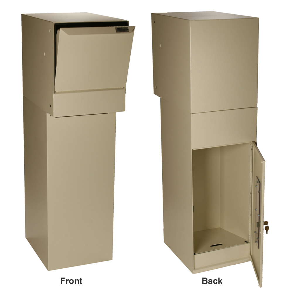 Dvault Wall Package Unit Locking Mailboxes