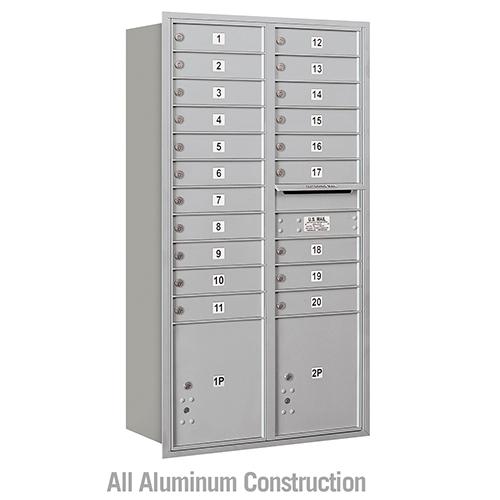 Standard 4C Horizontal Mailboxes